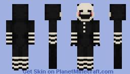 The Puppet/Marionette (Remade) - FNaF 2 Minecraft Skin