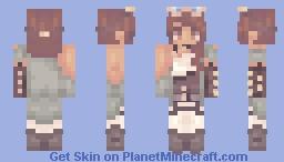 Steampunk Sister Minecraft Skin