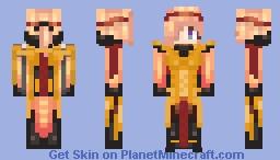 Amber Mercy Minecraft Skin