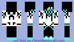Cyan Boy Minecraft Skin
