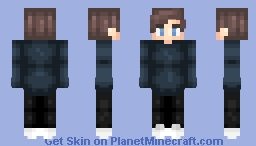 Blue eyed boy Minecraft Skin