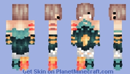 "🎶ℒε!𝓪🎶 ~ ""Responsibility? Sounds like hard work..."" ~ New Oc {Popreel} Minecraft Skin"