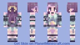 Moon Dust Minecraft Skin