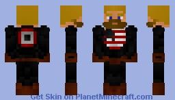 The Captain ( Steve Rogers ) Minecraft Skin
