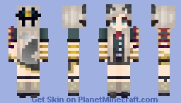 A Girl in whatever genre you want ._. Minecraft Skin