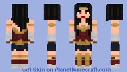 Wonder Woman DCEU Minecraft