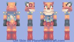 Foxy lady Minecraft