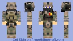 Colonal Rank Minecraft Skin