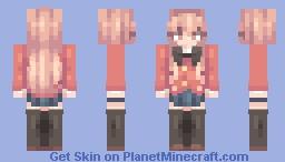 Taiga Aisaka - Toradora (+4 other characters!) Minecraft Skin