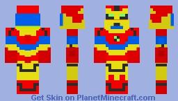 BEN 10 BLOXX Minecraft Skin