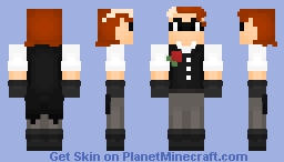"""""""Mr. Holmes, I left all the clues you could possibly need."""" Minecraft Skin"""