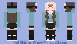 Female H2ODelirious Minecraft Skin