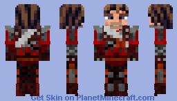 Witcher Armor - Grandmaster Wolf Minecraft Skin