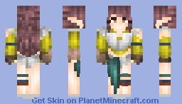 oc / persona | Nancy :> Minecraft Skin