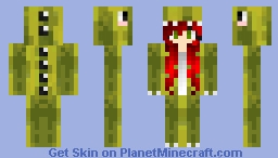 Melon Dino Minecraft Skin