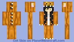 Pumpkin Dino Minecraft Skin