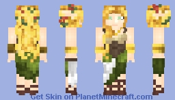 Female Elven Barmaid (LotC) Minecraft Skin