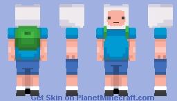 Inieloo | Finn the Human - Adventure Time Minecraft Skin