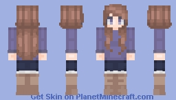 Happy Camper Minecraft Skin