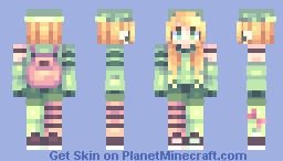 500 Rubies // Clare (OC) Minecraft Skin