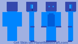 Water Elemental Cubone Minecraft Skin