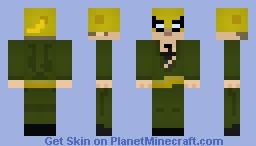 Iron Fist (Comics) (Shaded) Minecraft Skin
