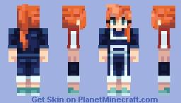 Itsuka Kendou [Hero Academia] Minecraft Skin