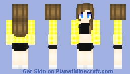 Queen bee skin trade with thyme_ Minecraft Skin