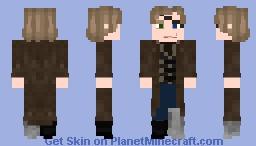 Alastor Moody Minecraft Skin