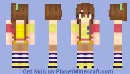 [THE IDOLM@STER: Million Live!] Futami Mami [Casual (outfit)] Minecraft Skin
