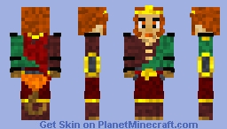 Monkey King [Dota 2] Minecraft Skin