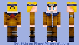 Boruto's Dad Minecraft Skin