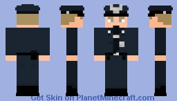 Police Officer Minecraft Skin