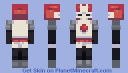 red nite Minecraft Skin