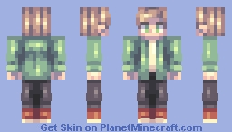 Request for a pal on Discord (he didn't like it) Minecraft Skin
