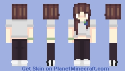 🌎 Save the earth  🌎 Minecraft Skin