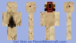 SCP-173 Minecraft Skin