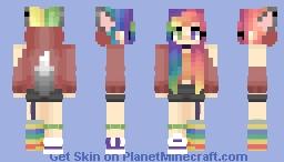 «ξvιε - Creativity In Wolf Form Minecraft Skin