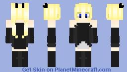 Gothic Lolita Minecraft Skin