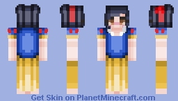 ♡ 𝓢𝓟𝓐𝓡𝓚𝓘𝓔 ♡ Snow White Minecraft Skin