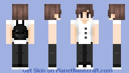 a guy that I'd kinda be into -- ɐᴉlǝɥdo Minecraft Skin