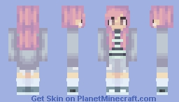 박지민 Jimin (Female) Minecraft Skin