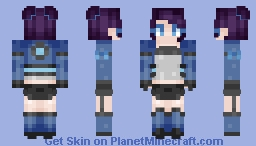 Sniper Girl // st with Kyoko Minecraft Skin