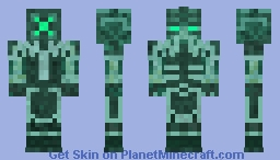 Prismarine Guard Minecraft Skin
