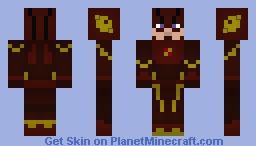 The Flash (Season 1) (TV Show) Minecraft Skin