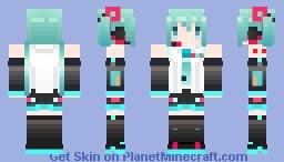 【Hatsune miku】V4X Minecraft Skin