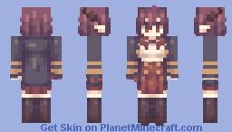 h-hewwo... H-HEWWO??? :3 ☆~(ゝ。∂) Minecraft Skin