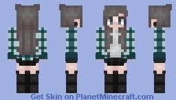 Ashy Tones Minecraft Skin