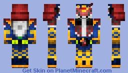 Kamen Rider Bujin Gaim 仮面ライダー武神鎧武 Minecraft Skin