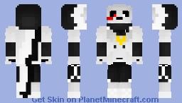 Cross Sans Minecraft Skin